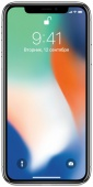 Apple iPhone X 64Gb серебристый (MQAD2RU/A)